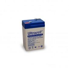 Μπαταρία Μολύβδου Ultracell 6V 4.5Ah